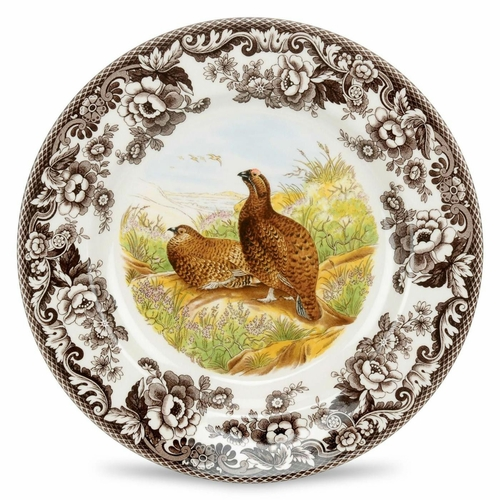 Woodland Red Grouse Dinner Plate by Spode