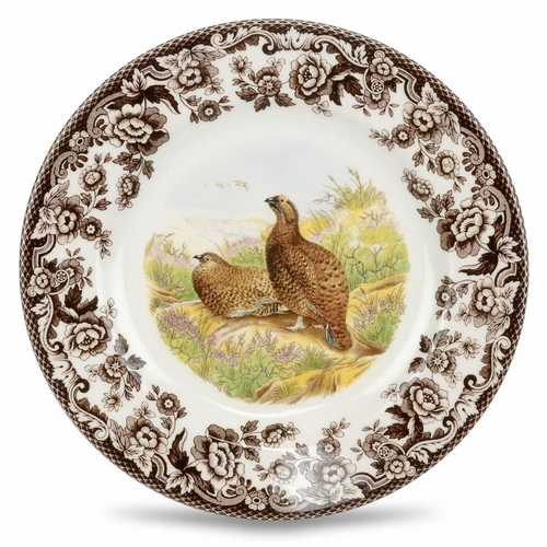 Woodland Red Grouse Salad Plate by Spode