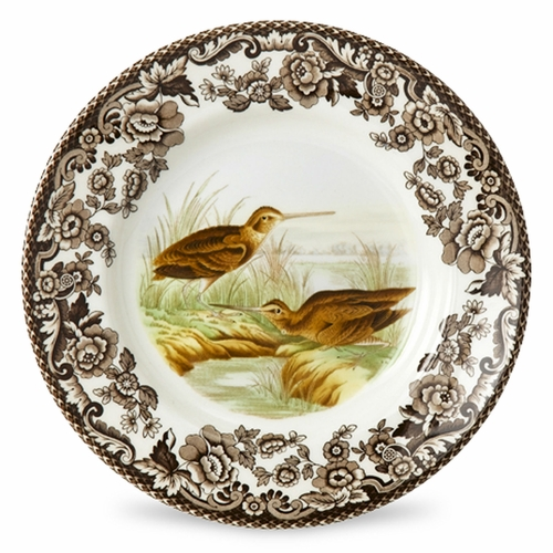 Woodland Snipe Bread And Butter Plate by Spode