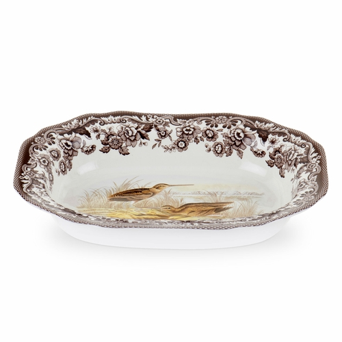 Woodland Snipe Large Open Vegetable Dish by Spode