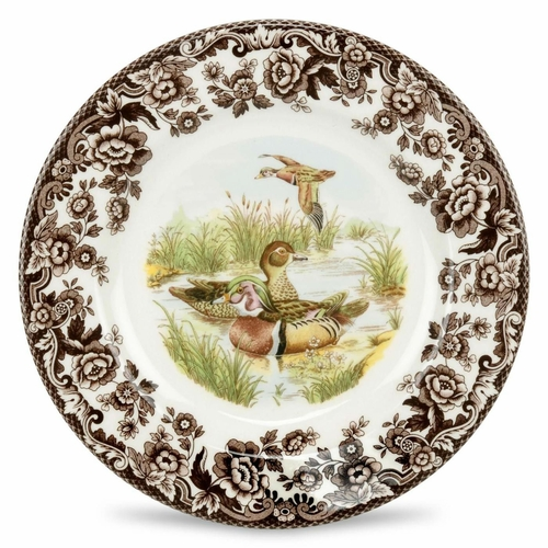 Woodland Wood Duck Dinner Plate by Spode