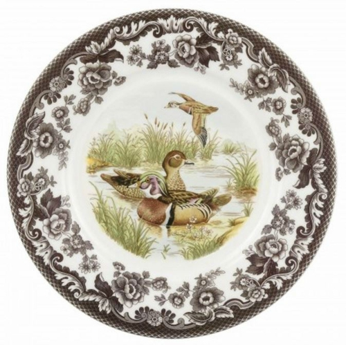 Woodland Wood Duck Luncheon Plate by Spode