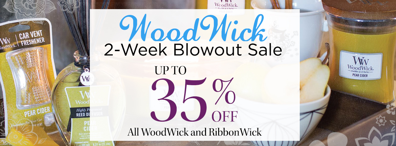 WoodWick Fragrance Diffusers