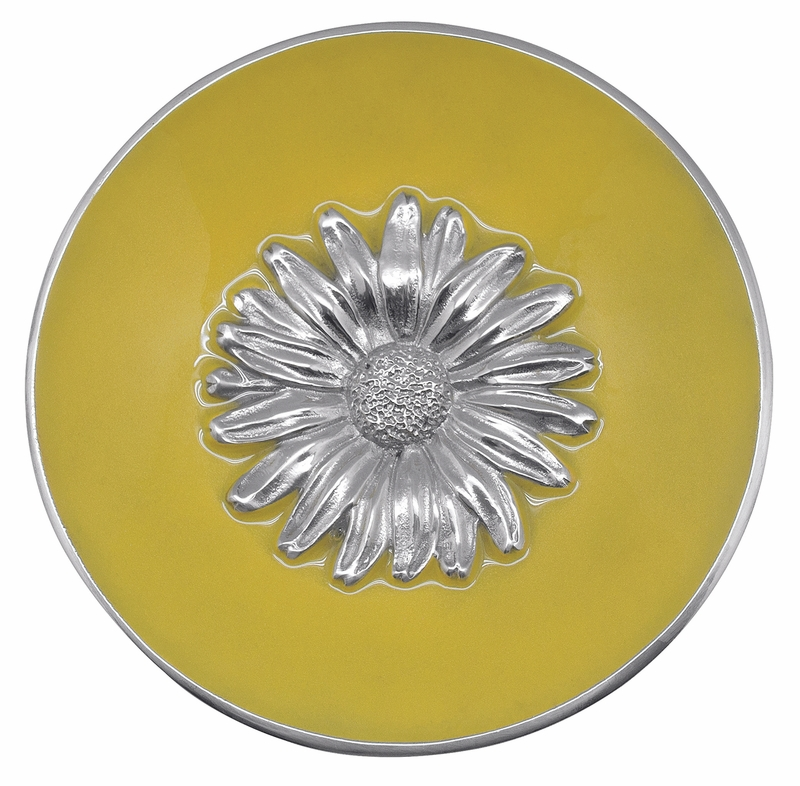sc 1 st  The L& Stand & Yellow Daisy Relief Bowl by Mariposa