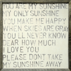You Are My Sunshine Art Print Collection by Sugarboo Designs