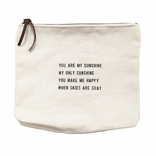 You Are My Sunshine Canvas Bag by Sugarboo Designs