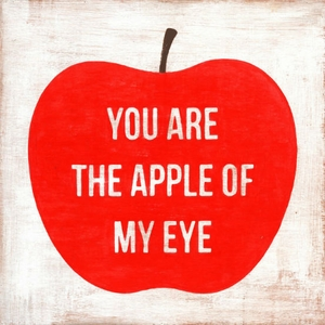 You Are The Apple Of My Eye Art Print Collection by Sugarboo Designs