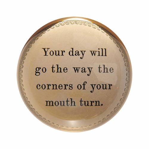 Your Day Will Go Paper Weight (Set of 2) by Sugarboo Designs