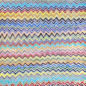 Zig Zag Art Print Collection by Sugarboo Designs