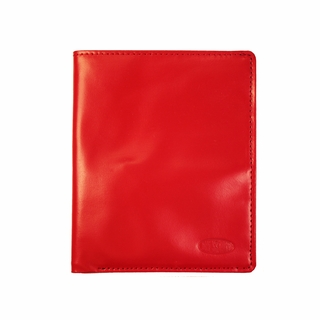 Buffed Leather Passport Holder