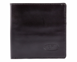 Leather Hybrid World Bi-Fold Wallet