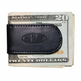 Leather Magnetic Cash Clip