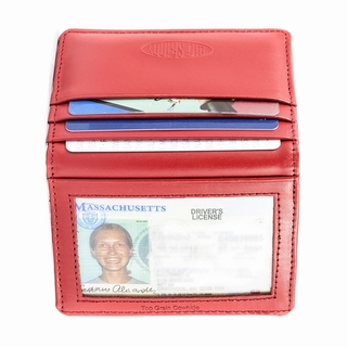 Leather New Yorker Card Holder