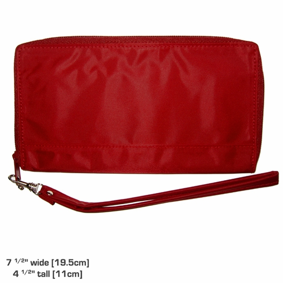 Panther Clutch in Cranberry Red: Sale 40% off!