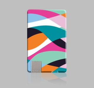 Patterned Power Card Ultra Thin Charger