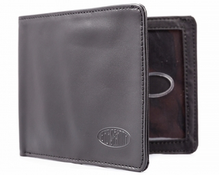RFID Blocking Leather Super Skinny Bifold