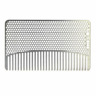 Stainless Steel Mesh Wallet Comb by Go-Comb