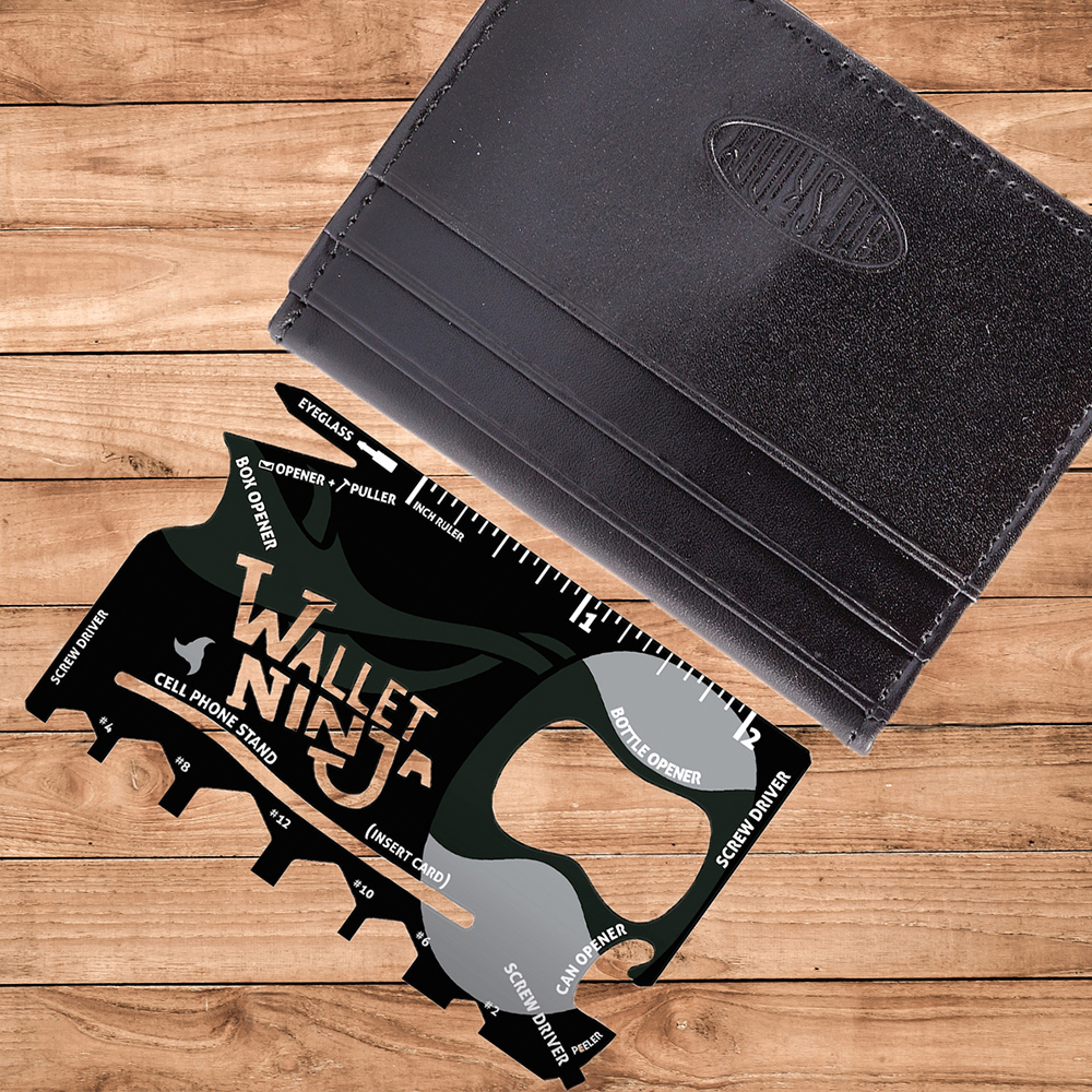 Wallet Ninja. 2 Reviews