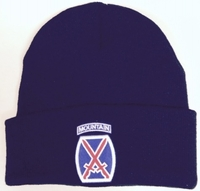 10th Mountain Knit Watch Cap
