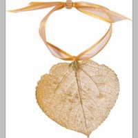 Aspen Leaf Ornaments