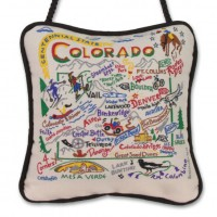 Colorado Mini Pillow Ornament 4x4