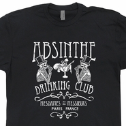 Absinthe Drinking Club T Shirt