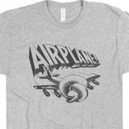 Airplane Movie Shirt Airplane Movie Poster T Shirt 80s Movie TShirts Funny Shirts