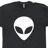 Alien Head T Shirts Alien T Shirt Cool UFO T Shirt Believe Science Fiction