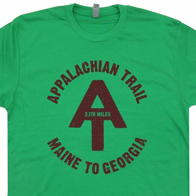Appalachian Trail T Shirt Hiking Camping Shirts