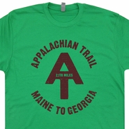Appalachian Trail T Shirt Vintage Hiking T Shirt Funny Camping T Shirt