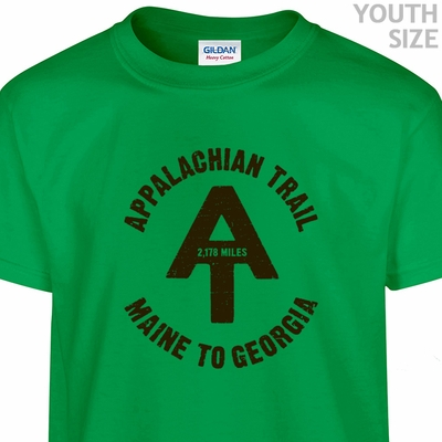 Appalachian Trail T Shirt Youth T Shirts Kids Shirts