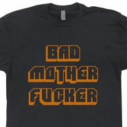 Bad Mother Fucker T Shirt Pulp Fiction Shirt Vintage Harley Davidson Tee
