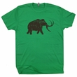 Big Wooly Mammoth T Shirt Cool Dinosaur T Shirt Elephant Graphic Shirt