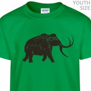 Big Wooly Mammoth T Shirt Funny Youth Shirts Cute Kids Shirts
