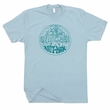 Bluegrass Bar T Shirt Asheville NC Shirt Jam Band Stand Up Bass Banjo Shirt