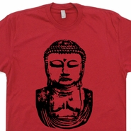 Buddha T Shirt Buddhist T Shirt Saying Yoga T Shirt Quote Buddha Statue