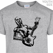 C3PO Youth Guitar T Shirts Funny Youth Star Wars Shirt Kids Shirts