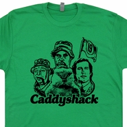 Caddyshack Shirt Caddyshack T Shirts Chevy Chase Bill Murray TShirt 80s Movie Shirts