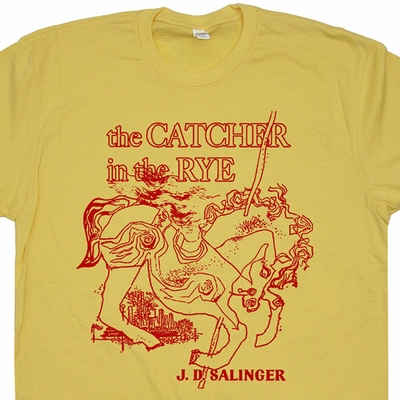 Cather In The Rye T Shirt Cool Book Shirt I Read Banned Books Shirt