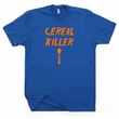 Cereal Killer T Shirt Funny Breakfast T Shirt Saying Funny Bacon Shirts