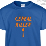 Cereal Killer T Shirts Funny Kids T Shirts Vintage T Shirts Cool Youth Shirts