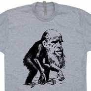 Charles Darwin T Shirt Evolution T Shirt Funny Science Shirt Biology Tee