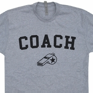 Coach T Shirt Vintage Coach Shirt Sports Coach T Shirts Retro Gym Shirt