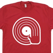 DJ T Shirt Vinyl Record Shirt Technics Turntable T Shirt Cool Dj Tee Shirt