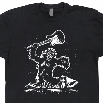 2001 Guitar Smash T Shirt