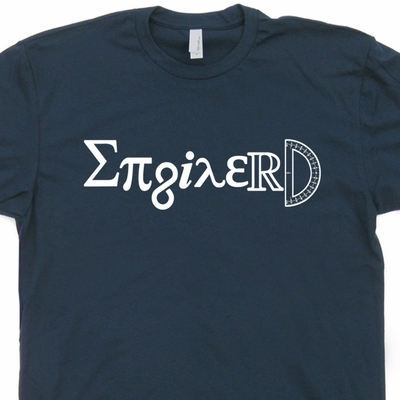 Enginerd T Shirt Engineer T Shirt Geek Tee Shirts Math Shirt Occupation