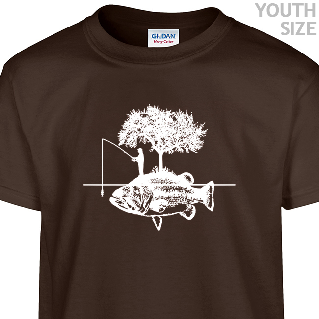 Fishing t shirt funny kids shirt cool youth fishing t for Funny fishing t shirts
