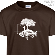Fishing T Shirt Funny Kids Shirt Cool Youth Fishing T Shirt