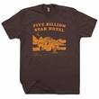 Camping T Shirts Five Billion Star Hotel Smokey the Bear Shirt Woodsy Owl
