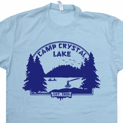 Friday The 13th Shirt Vintage 80s Horror Movie T Shirt Camp Crystal Lake